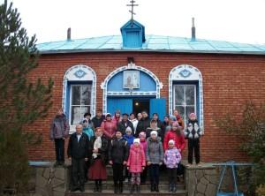 Паломники из c.Синявское Неклиновского района