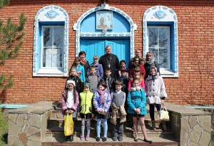 Учащиеся 4-го класса Богураевской СОШ на уроке ОПК